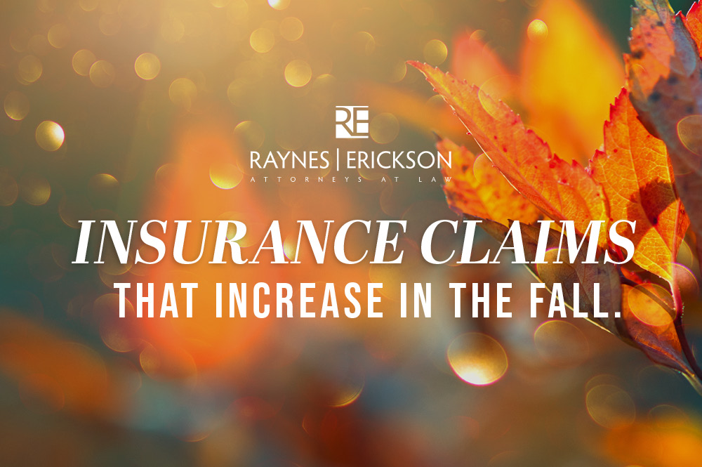 Insurance Claims That Increase During Fall